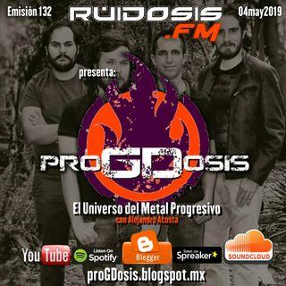 proGDosis 132 - 20abr2019 - Tangerine Circus