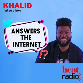 KHALID - Heat World Interview   Khalid hints BTS collab could drop very soon as he 'Answers the Internet'   Full Interview  
