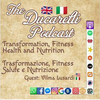 Transformation Fitness Health Salute Nutrition Nutrizione con Vilma Lusardi