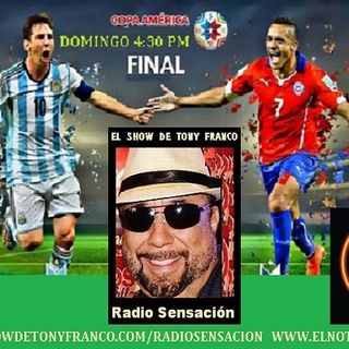 TIEMPO EXTRA ARGENTINA VS CHILE FINAL