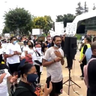 ONME BREAKING NEWS:  1,000+ protesters come to downtown Fresno, CA to express themselves after the murder of George Floyd