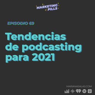 ⚡Episodio 69 - Tendencias de podcasting para 2021