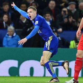 The Footbal Hour - The Balotelli/Aguerooooooo Moment - Jamie Vardys Wonder Strike Vs Liverpool