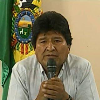 Renuncia Evo Morales a la presidencia de Bolivia