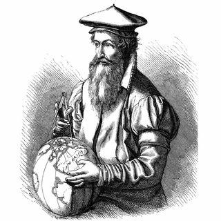 Gerhard Mercator, Kartograph (Todestag 2.12.1594)