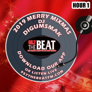 KPAT 95.7 THE BEAT .. Merry Mixmas 2019 Hour 1 .. digumsmak
