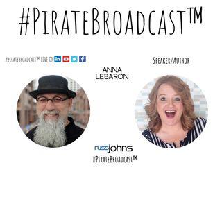 Catch Anna LeBaron on the #PirateBroadcast™