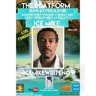 THE PLATFORM :SPECIAL GUEST AUTHOR ICE MIKE