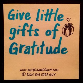 Gifts Of Gratitude : BYS 323