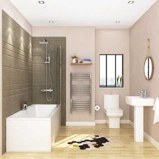 Add value with the complete bathroom suites with shower