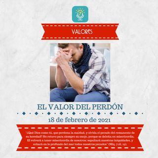 18 de febrero - El valor del perdón - Etiquetas Para Reflexionar - Devocional de Jóvenes