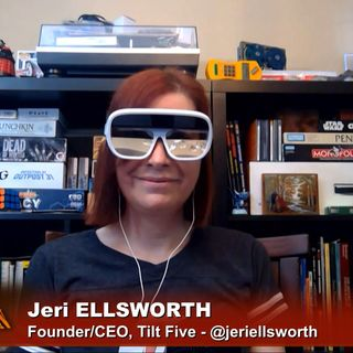 Triangulation 419: Jeri Ellsworth and Tilt Five Tabletop AR
