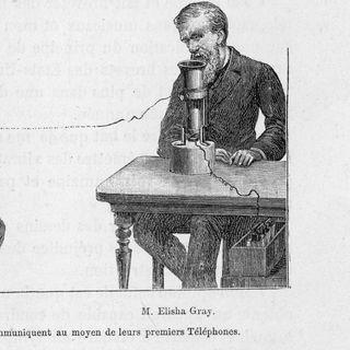 Elisha Gray, Erfinder (Todestag 21.01.1901)