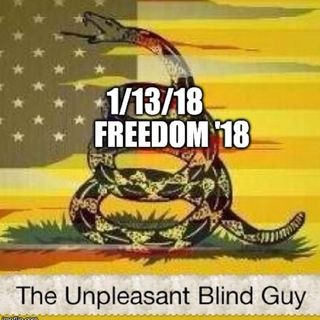 The Unpleasant Blind Guy : 1/13/18 - Freedom '18
