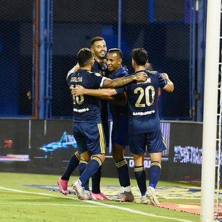 Gol de Boca: Gonzalo Maroni 1-4