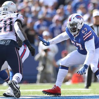 Buffalo Bills G Quinton Spain Talks About Dominating The Run Game In The Win Against The Denver Broncos