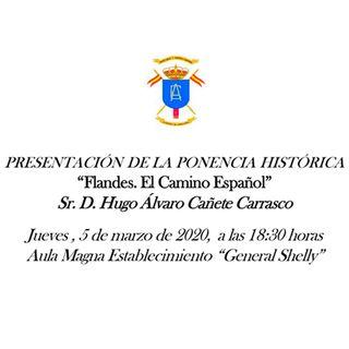 H files 46 - Conferencia 'Flandes. El Camino Español' en la ACAB por Hugo A. Cañete