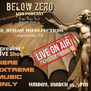 BELOW ZERO - THE HUMAN IMPERFECTIONS