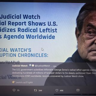 Judicial Watch: Soros Agenda To Destroy National Sovereignty