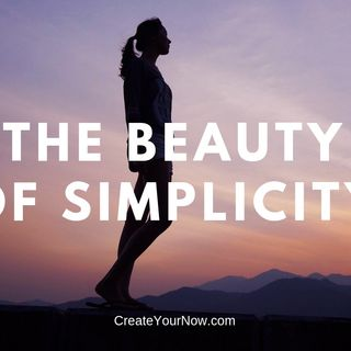 1418 The Beauty of Simplicity
