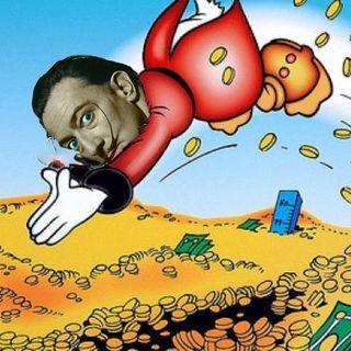 """4 - """"Datemi dei soldi"""" (Salvador Dalí, 1974)"""