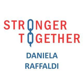 Intervista a Daniela Raffaldi per il progetto #StrongerTogether 2020
