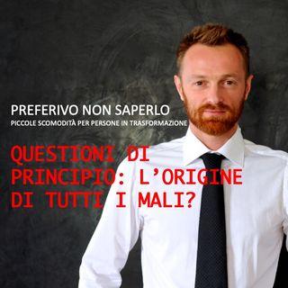 4 - Le questioni di principio