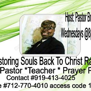 "Wednesday Night Power w/ ""Restoring Souls To Christ Radio Show"" Host Pastor Brenda D Wilson"