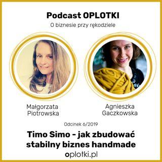 6/2019 - Timo Simo jak zbudować stabilny biznes handmade