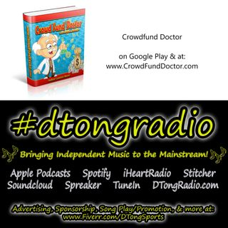#NewMusicFriday on #dtongradio - Powered by CrowdFundDoctor.com