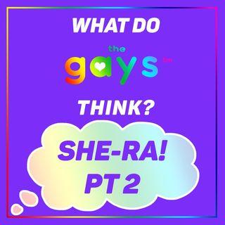 SHE-RA PT 2! Catradora and Glimbow: Do We Approve?