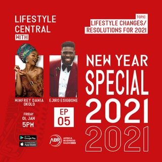 Lifestyle Changes and Resolution for 2021