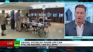 Ben Swann ON Is Voting By Cellphone and Blockchain Safe