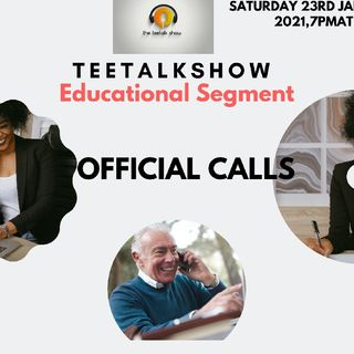 Lets Discuss Official Calls Episodes 88 - Sanusi Rebecca's podcast