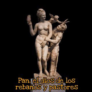 Pan, el dios de los rebaños y pastores