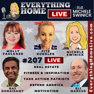 207 LIVE: Real Estate, Fitness, Take Action Patriots, Defend America, Motivation