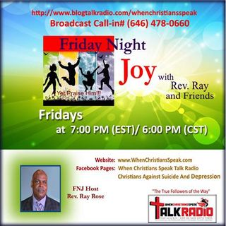 Friday Night Joy with Rev Ray Presents: Rev Kim Newman 'Thanksgiving'