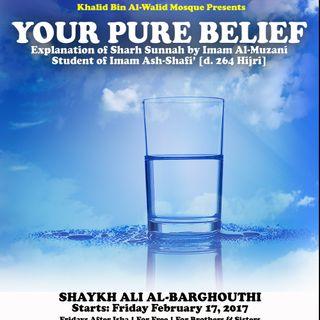 Sharh Assunnah (3): Creation of Adam, Iman, & the Quran