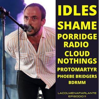 11. ¡Bienvenido 2021! IDLES, Phoebe Bridgers, Shame, Haim y más