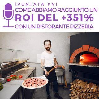 #4 - Come abbiamo raggiunto  un ROI del +351% con un Ristorante Pizzeria
