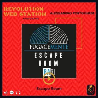"""INTERVISTA ALESSANDRO PORTOGHESE - ESCAPE ROOM """"FUGACEMENTE"""" BARI"""