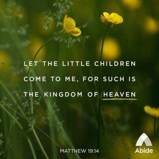 Depending on God Like a Child