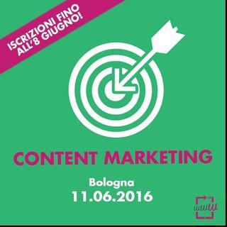 Perché un corso sul Content Marketing? Ce lo spiega Cristiano Carriero!
