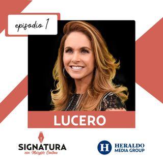 Lucero, desciframos la firma de 'La novia de México'   Signatura