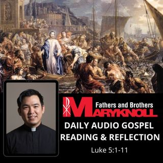 Thursday of the Twenty-second Week in Ordinary Time, Luke 5:1-11