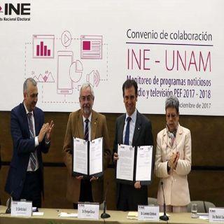 UNAM realizará monitoreo de medios en elecciones 2021
