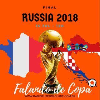 Falando de Copa:  França x Croácia