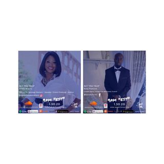 """1.30 SLT """"the TALK"""" featuring, Lindsy Bivens, CEO of My Message Matters and Rony Francois, CEO of Credit Hero"""