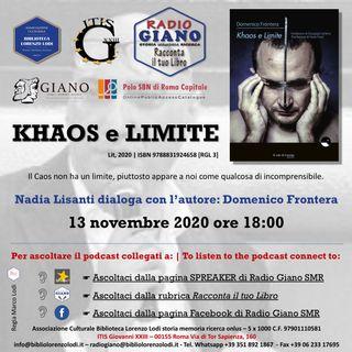 L'ACBLL presenta : Nadia Lisanti dialoga con Domenico Frontera | Khaos e Limite
