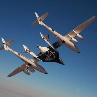 Travelling to space with Virgin Galactic